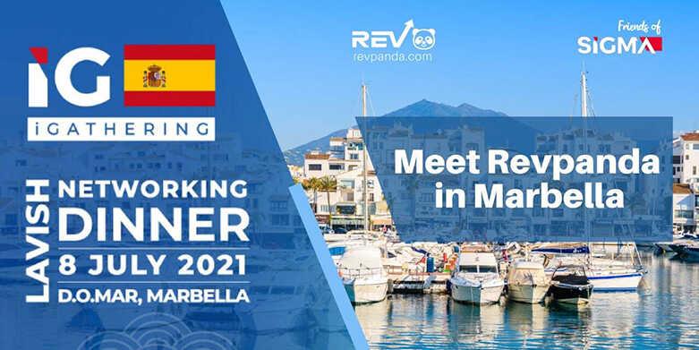 Meet Revpanda at the iGathering Dinner in Marbella