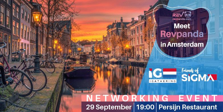 Revpanda Sponsors the Next SiGMA iGathering in Amsterdam