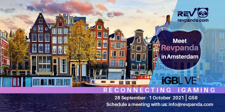 Meet Team Revpanda at iGB Live! In Amsterdam